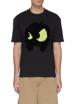 c38a5bdf0e MCQ ALEXANDER MCQUEEN 'McQ Chester Monster' velvet flock print ...