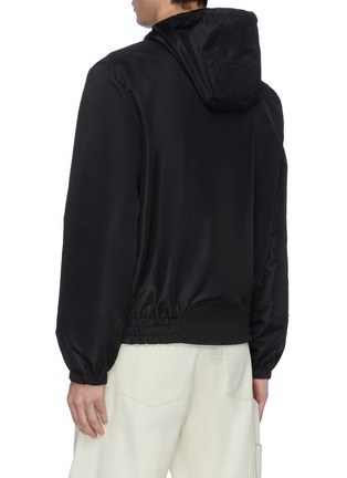 Back View - Click To Enlarge - MCQ ALEXANDER MCQUEEN - 'Rave' logo patch hooded jacket