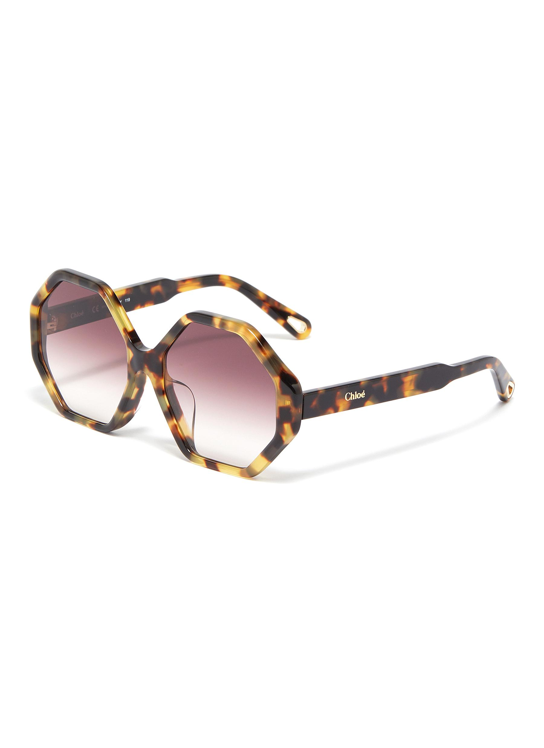 906e32439d5 Main View - Click To Enlarge - Chloé -  Willow  tortoiseshell acetate  octagon frame