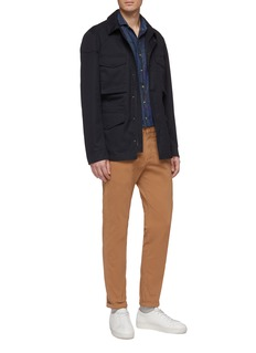 Christian Kimber Flap pocket twill field jacket
