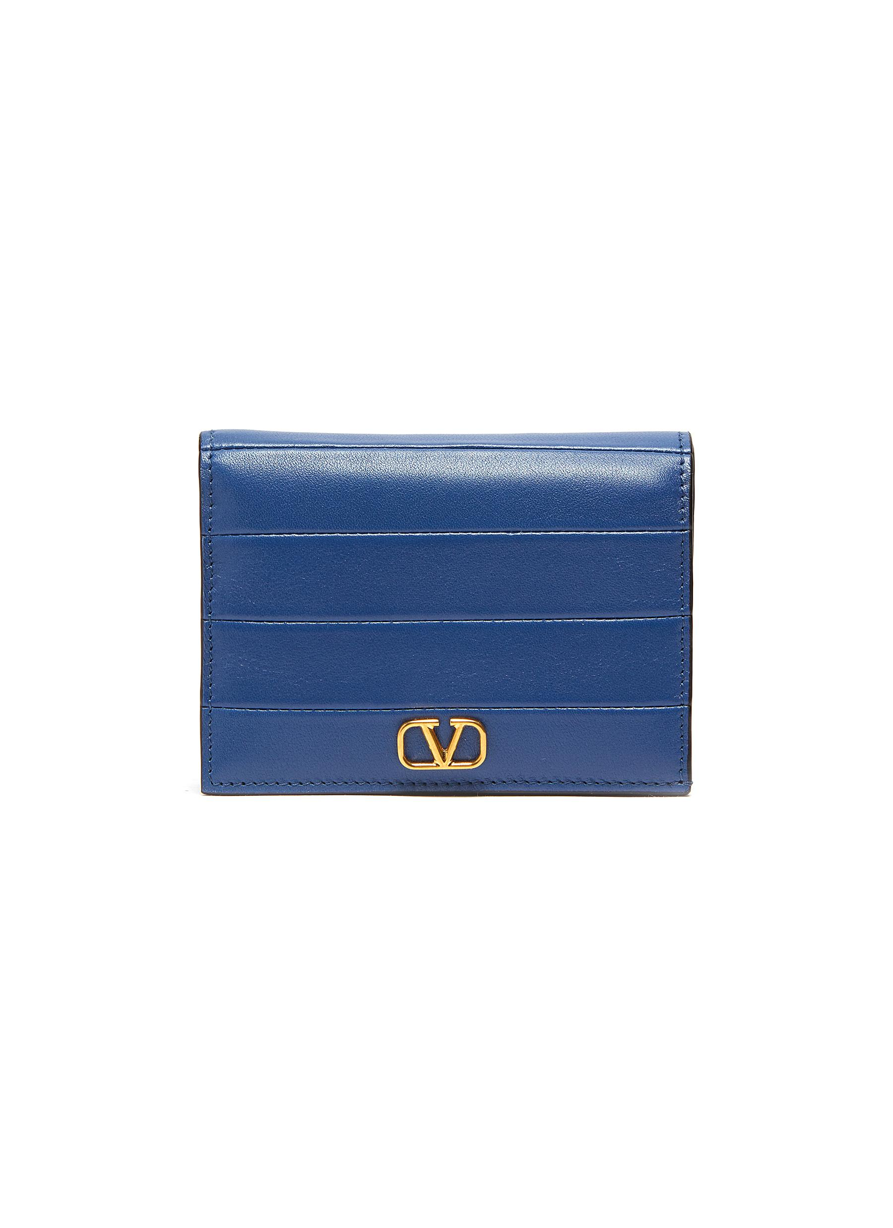 Valentino Wallets 'Diary Lines' stitched leather wallet