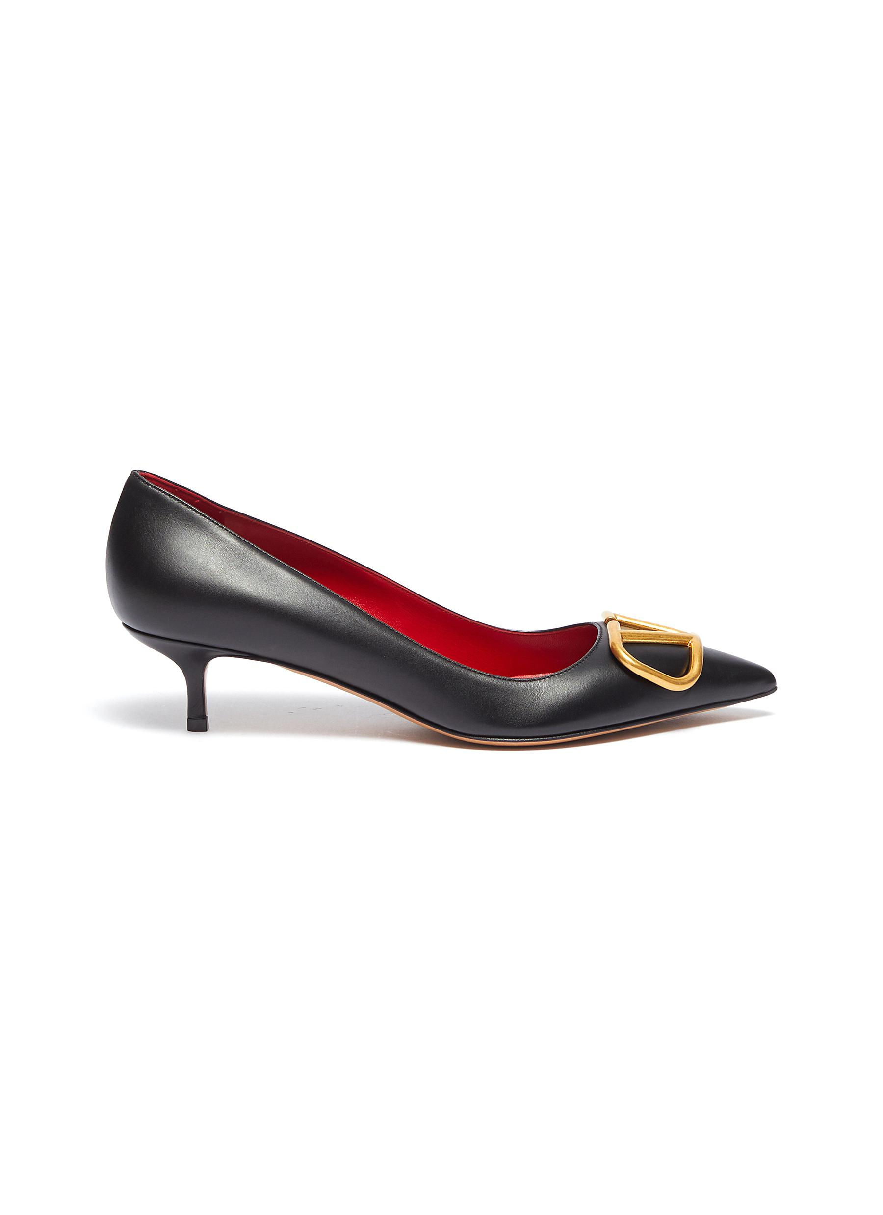 VLOGO leather pumps by Valentino