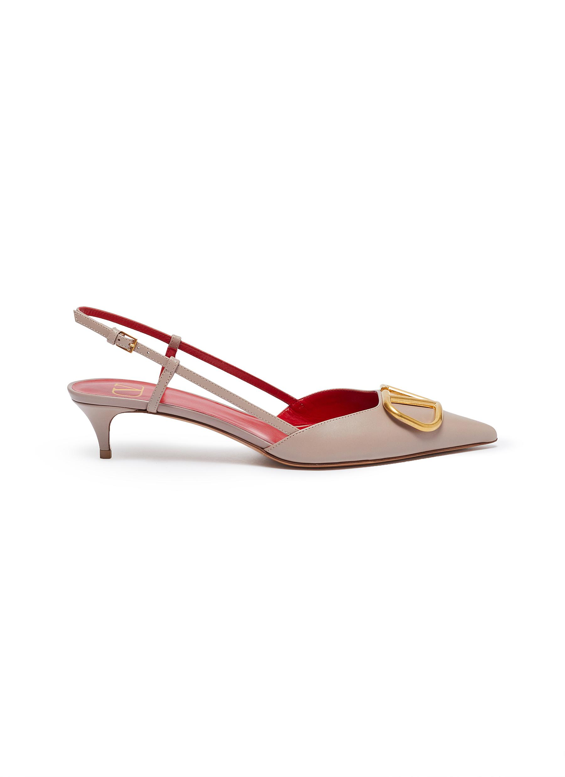 VLOGO leather strappy pumps by Valentino