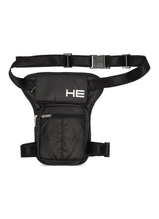 Main View - Click To Enlarge - HELIOT EMIL - Snap clasp leg bag