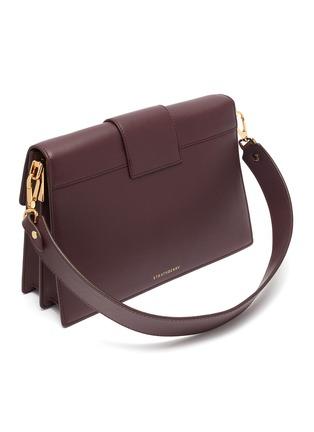 Detail View - Click To Enlarge - STRATHBERRY - 'Crescent' arc bar leather shoulder bag