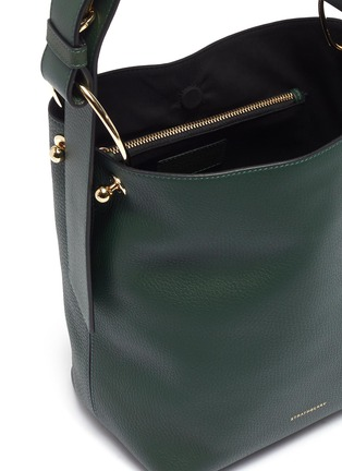 Detail View - Click To Enlarge - Strathberry - 'Lana Midi' leather bucket bag