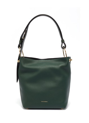 Main View - Click To Enlarge - Strathberry - 'Lana Midi' leather bucket bag