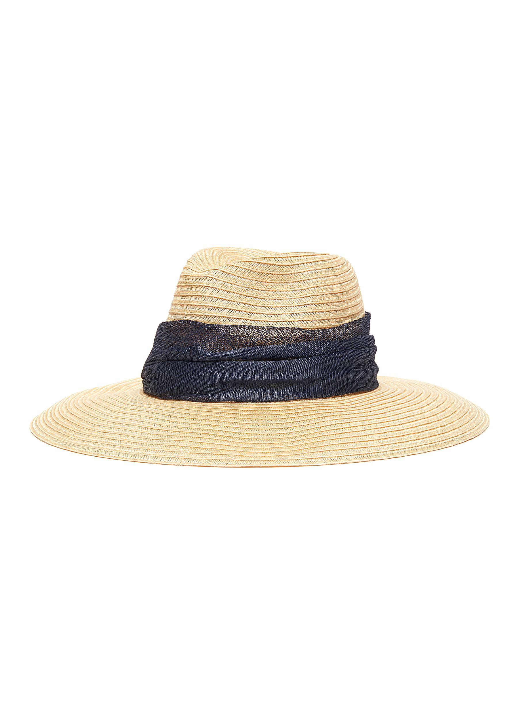 f29085a1c2c12 Eugenia Kim.  Emmanuelle  sinamay sash hemp straw hat