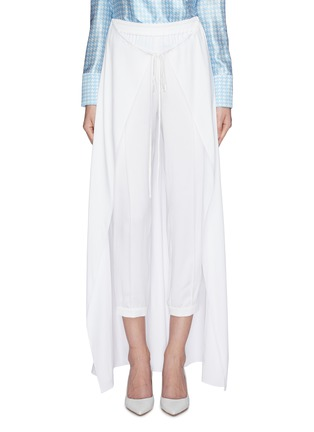 Main View - Click To Enlarge - HELLESSY - 'Solar' skirt overlay jogging pants