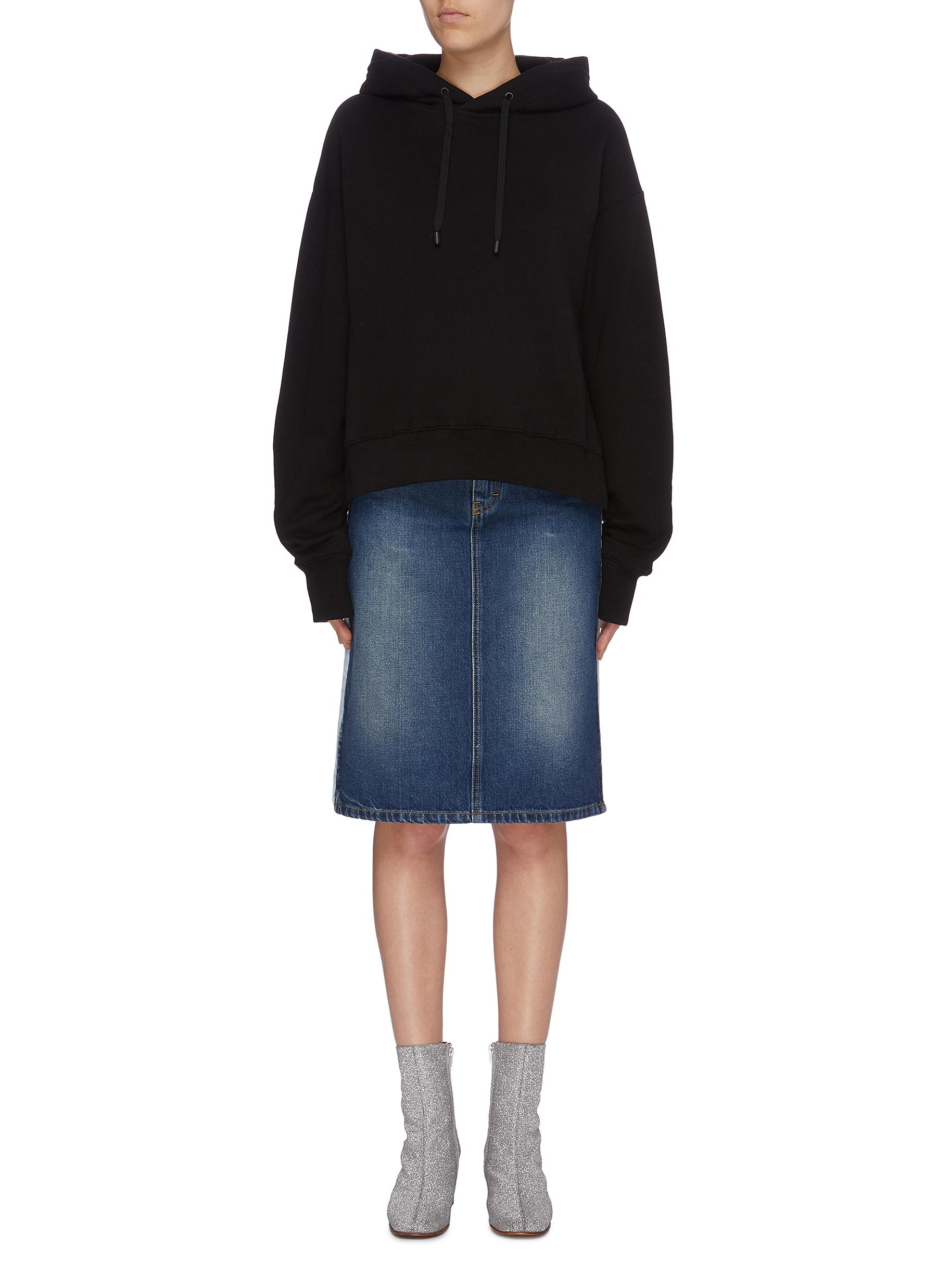 Drawstring back hoodie by Maison Margiela