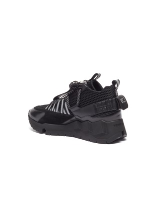 - PIERRE HARDY - x Victor Cruz 'VC1 2006' chunky outsole mesh sneakers