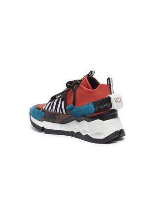 - Pierre Hardy - x Victor Cruz 'VC1 1996' chunky outsole colourblock neoprene sneakers