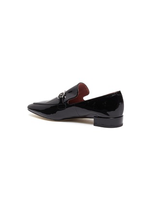 - PEDDER RED - 'Zack' horsebit patent leather loafers
