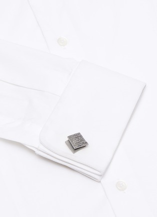 Figure View - Click To Enlarge - LANVIN - Folded cufflinks