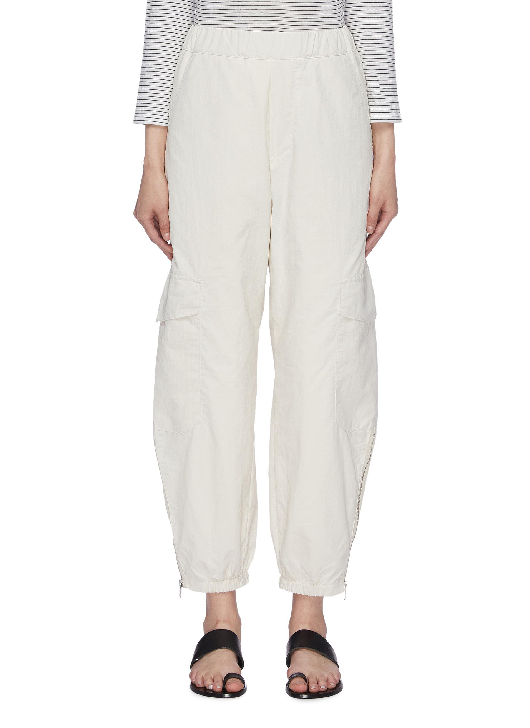 Pluvia zip cuff cargo pants by Barena