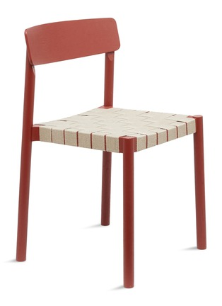 - &TRADITION - Betty chair –Maroon