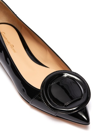 Detail View - Click To Enlarge - GIANVITO ROSSI - Buckle skimmer flats