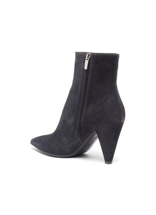 - GIANVITO ROSSI - 'Stivale' panelled suede ankle boots