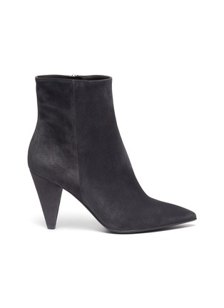 Main View - Click To Enlarge - GIANVITO ROSSI - 'Stivale' panelled suede ankle boots