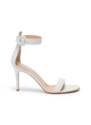 53df6093715 Gianvito Rossi.  Portofino 85  ankle strap leather sandals