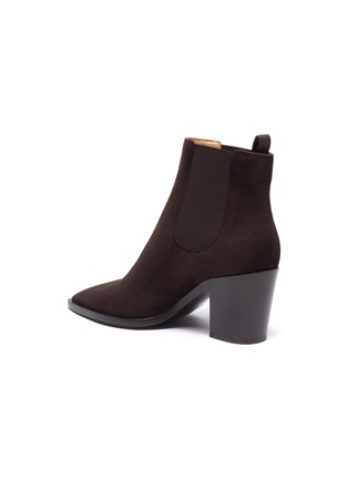 - GIANVITO ROSSI - Suede Chelsea boots