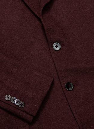 - ISAIA - 'Cortina' silk-cashmere knit blazer