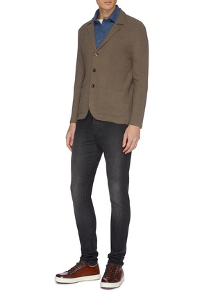 Figure View - Click To Enlarge - ISAIA - Slim fit jeans