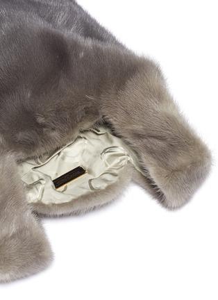 Detail View - Click To Enlarge - SIMONETTA RAVIZZA - 'Furrissima Degrade' mink fur sac bag