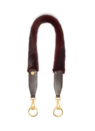 Main View - Click To Enlarge - SIMONETTA RAVIZZA - 'Tracolla' mink fur shoulder strap