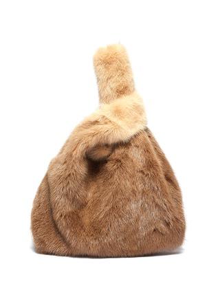 Main View - Click To Enlarge - SIMONETTA RAVIZZA - 'Furrissima Degrade' mink fur sac bag