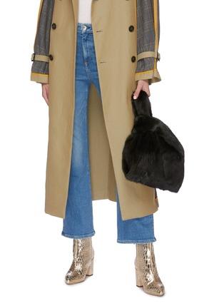 Figure View - Click To Enlarge - SIMONETTA RAVIZZA - 'Furrissima' mink fur sac bag