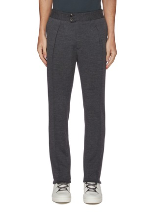 Main View - Click To Enlarge - ISAIA - Jersey stretch jogging pants