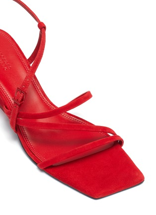 Detail View - Click To Enlarge - MERCEDES CASTILLO - 'Kelise' strappy suede sandals