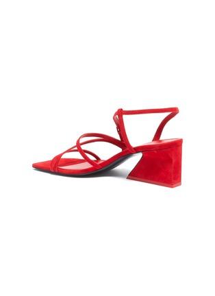 - MERCEDES CASTILLO - 'Kelise' strappy suede sandals