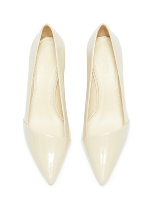 Detail View - Click To Enlarge - MERCEDES CASTILLO - 'Kioko Mid' patent leather pumps