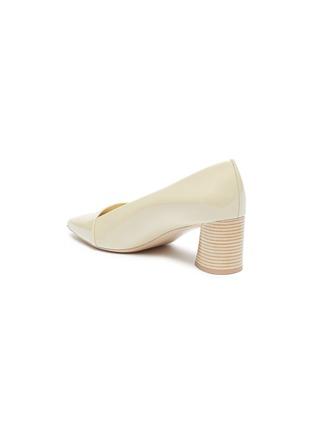 - MERCEDES CASTILLO - 'Kioko Mid' patent leather pumps