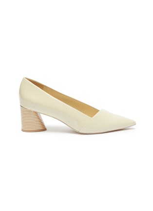 Main View - Click To Enlarge - MERCEDES CASTILLO - 'Kioko Mid' patent leather pumps