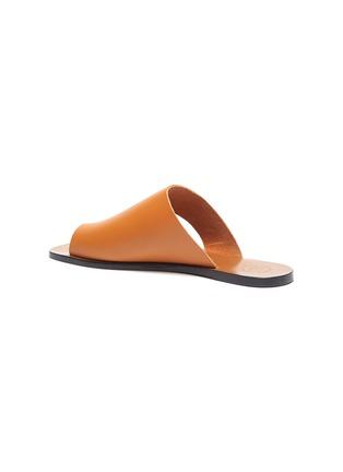 - ATP ATELIER - 'Rosa' cutout leather slide sandals