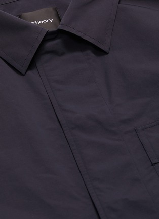 - Theory - 'Trevor' chest pocket shirt jacket