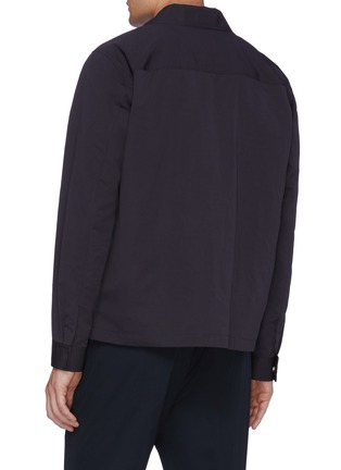 Back View - Click To Enlarge - Theory - 'Trevor' chest pocket shirt jacket