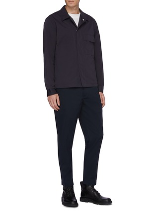 Figure View - Click To Enlarge - Theory - 'Trevor' chest pocket shirt jacket