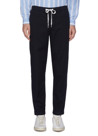 Main View - Click To Enlarge - Theory - 'Nevins' twill jogging pants