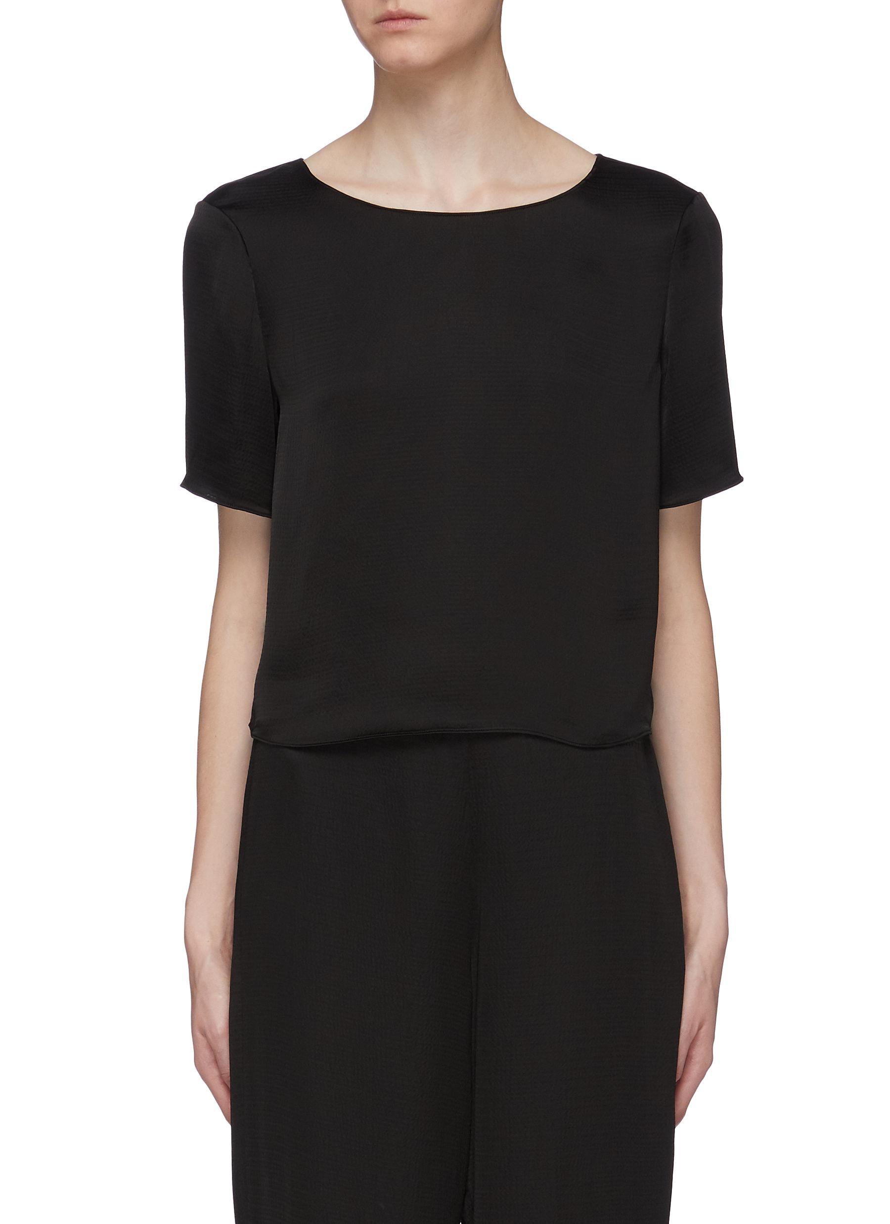 Easy boxy T-shirt by Theory