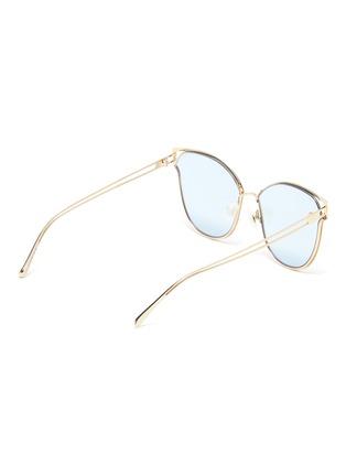 Figure View - Click To Enlarge - FOR ART'S SAKE - 'Kew' mirror metal cat eye sunglasses