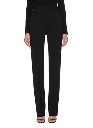 Main View - Click To Enlarge - THE ROW - 'Miguel' buckle waist straight leg pants