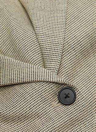 - THE ROW - 'Mel' wool silk blend waist tie blazer