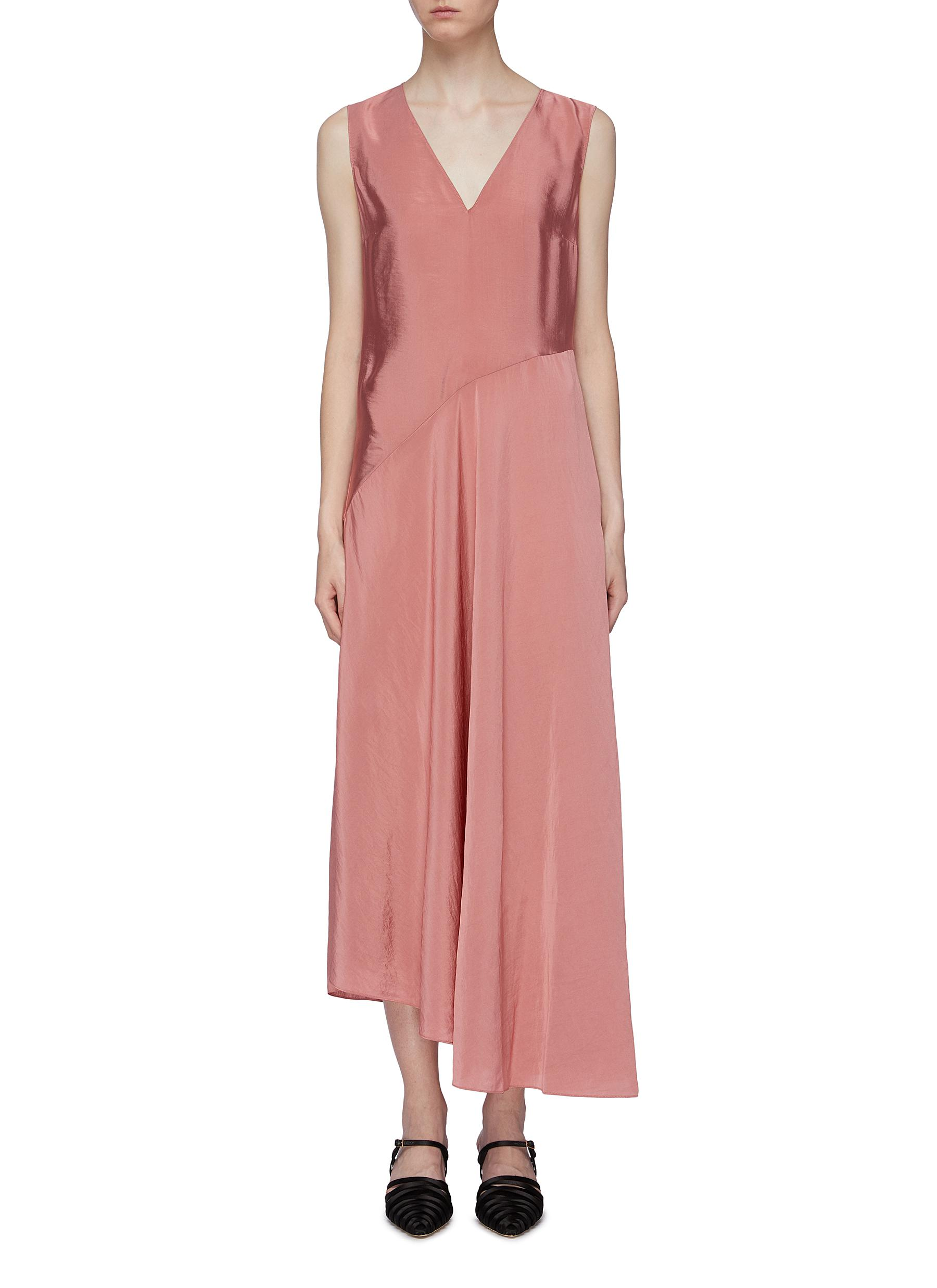 Twill sleeveless dress by Theory