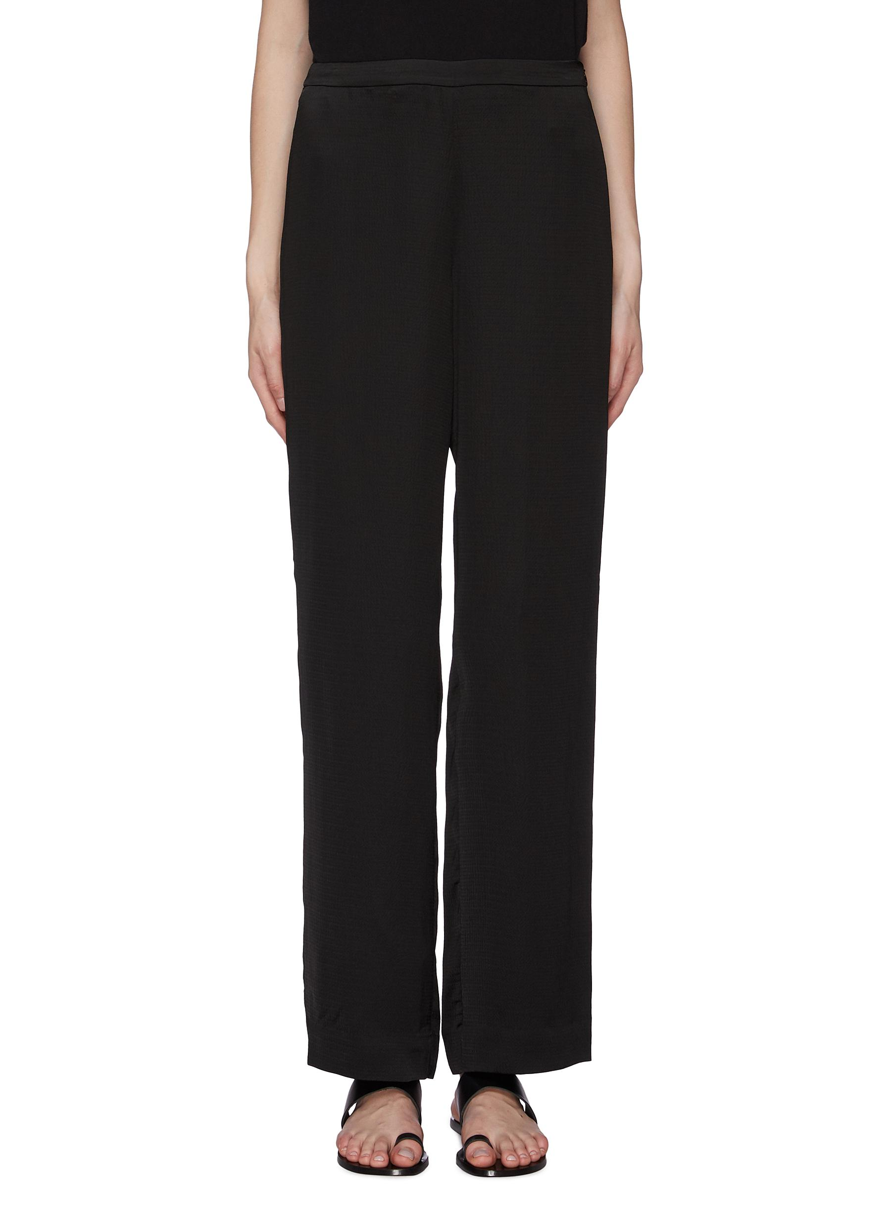 Straight leg pyjama pants by Theory