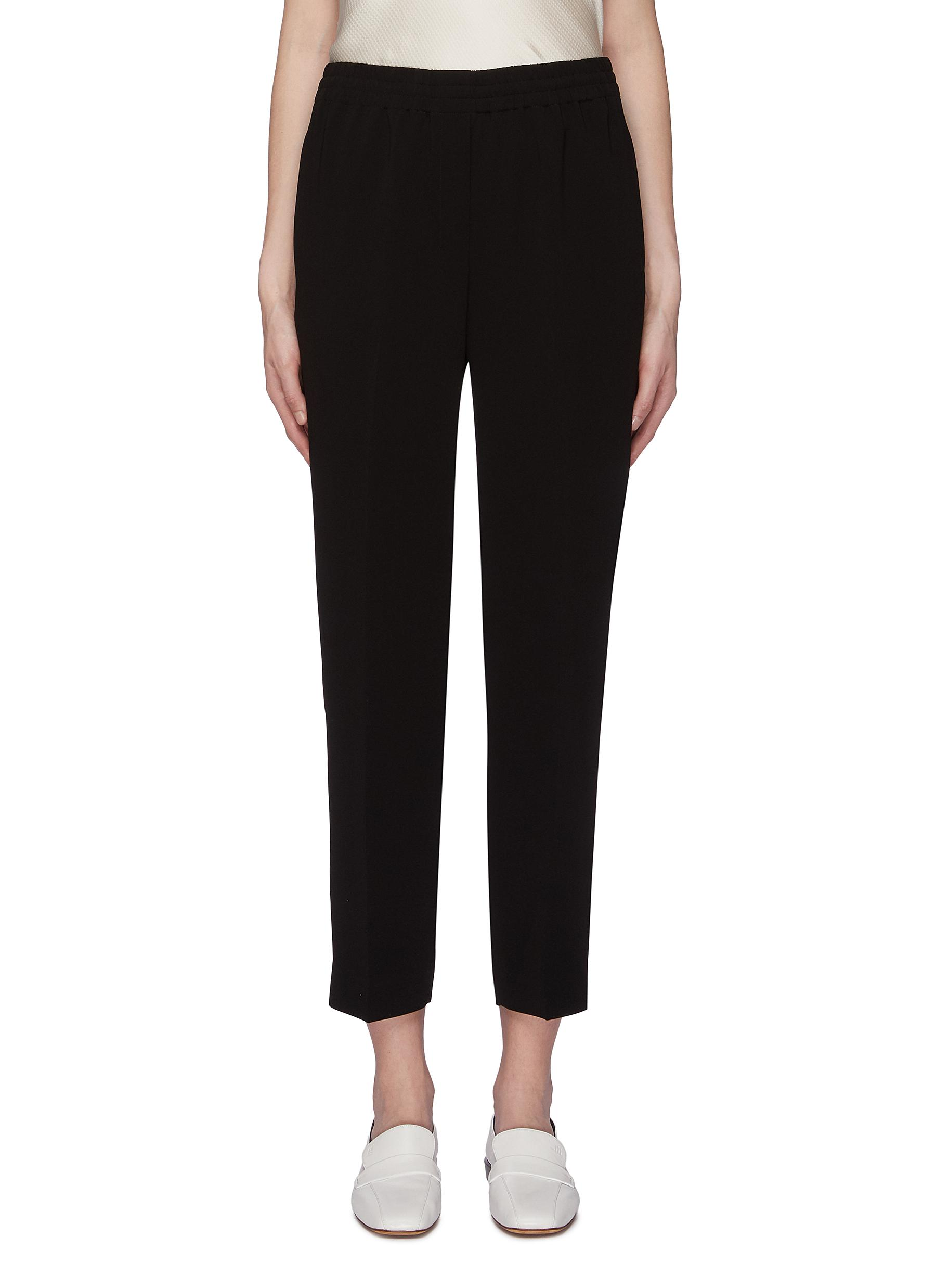 Easy crepe jogging pants by Theory