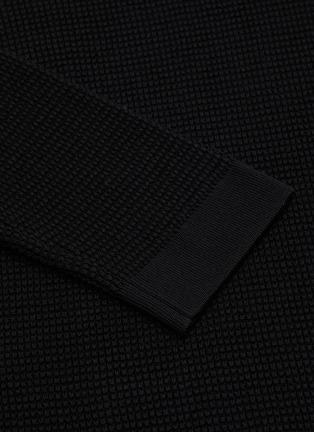 - THE ROW - 'Cass' cotton silk blend crew neck top